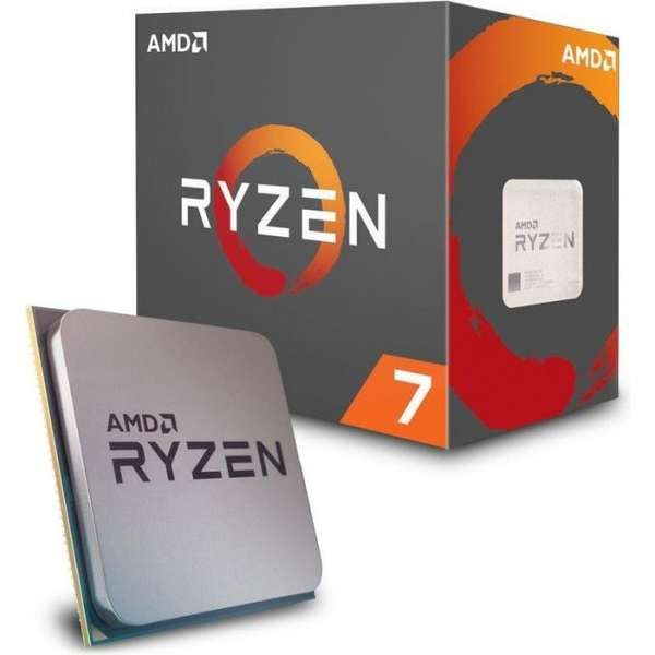 AMD Ryzen 7 1700x, AM4, 20MB Cache, 3800MHz
