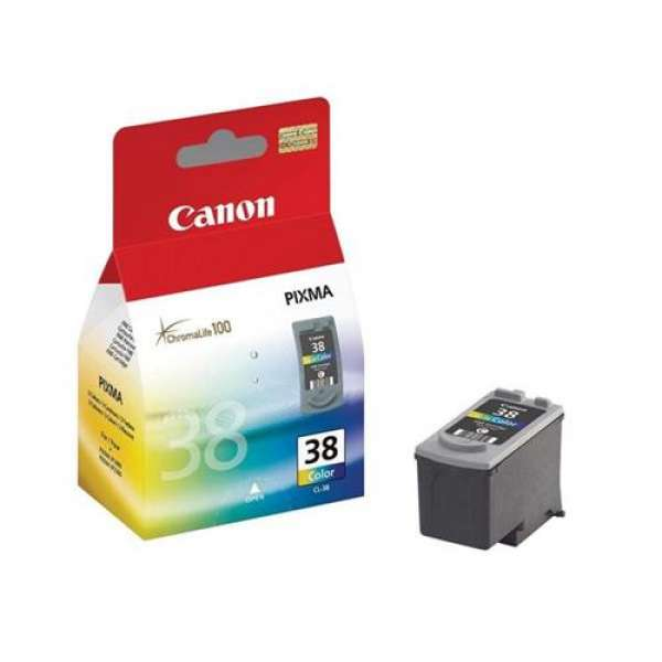 Cartus Canon CL38 color | 9ml | iP1800/iP2500