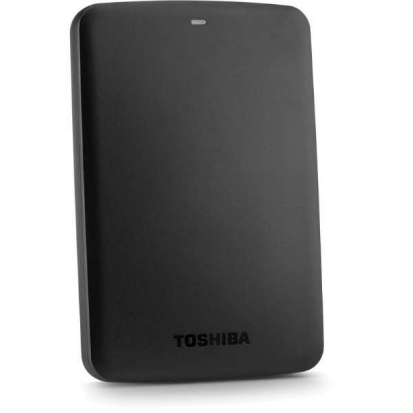 External HDD Toshiba Canvio Basics 2.5 3TB USB3, Black