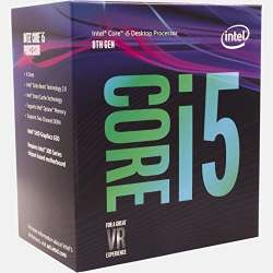 CPU INTEL skt. 1151  Core i5 Ci5-8400, 2.8GHz, 9MB