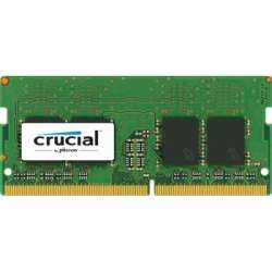 Crucial memorie, DDR4, 4GB, 2400MHz, CL17, SRx8, SODIMM, 260 pin