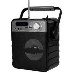 PARTYBOX COMPACT BT - Bluetooth Speaker with FM Radio - MP3 Player - Mic input