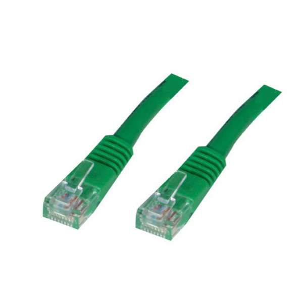 CABLU UTP Patch cord cat. 5E -  5 m, green Spacer