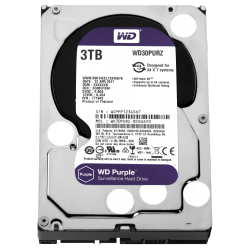 HDD 3TB PURPLE  64MB S-ATA3