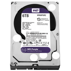 HDD 6TB PURPLE  64MB S-ATA3
