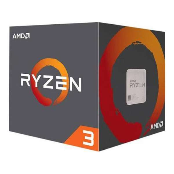 CPU AMD skt AM4 Ryzen 3 1200  3.10/3.40Ghz, 10MB cache,  65W, BOX