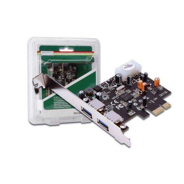 USB 3.0 PCI Express Add-on Card, 2-Port