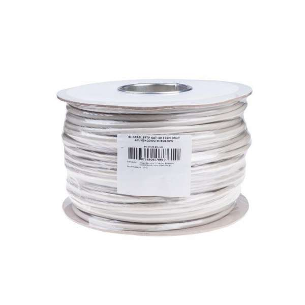 Gembird SFTP solid CCA cable, cat. 5e, 100m, grey