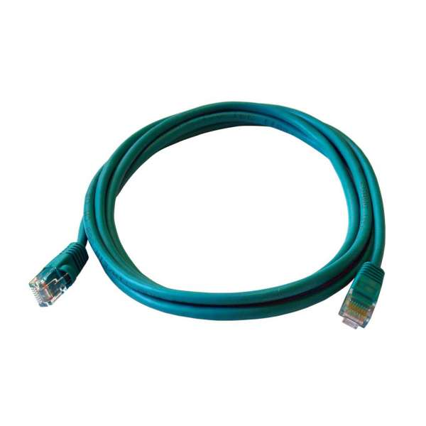 ART PATCHCORD UTP 5e 2m green oem