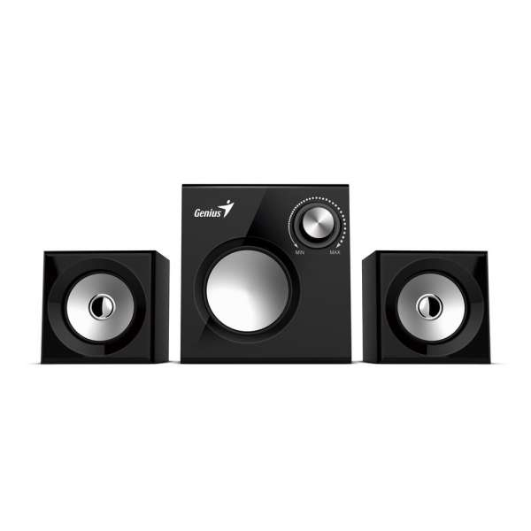 Genius Speakers SW-2.1 370, Black