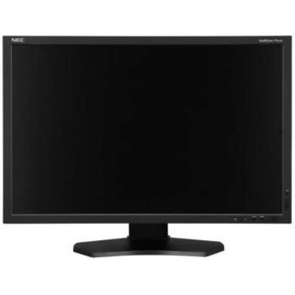 Monitor NEC MultiSync LCD P242W 24'' wide, IPS, DVI, HDMI, DP, negru