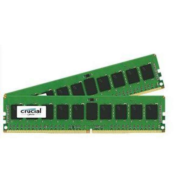 Crucial 2x8GB 2133MHz DDR4 CL15 SR x4 ECC Registered DIMM 288pin