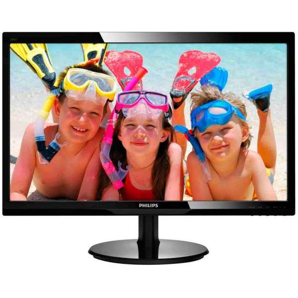 Monitor Philips 246V5LHAB/00, 24'' LED, FullHD, HDMI, boxe, negru