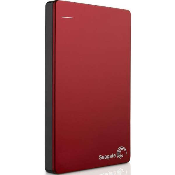 Hard disc extern Seagate Backup Plus; 2,5'', 1TB, USB 3.0, rosu