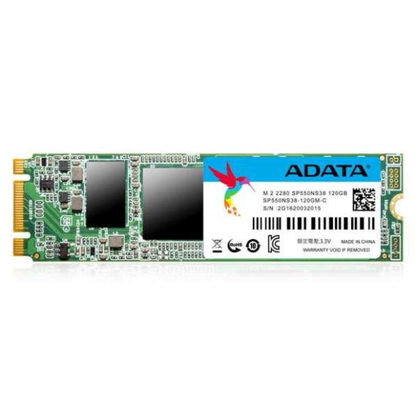 Adata SSD drive SP550 120GB M.2 up to 560/510MB/s