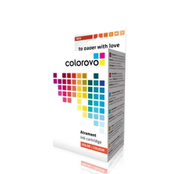 Cartus cu cerneala COLOROVO 344-CL | color | 21 ml | HP 344 (C9363EE) refabricat
