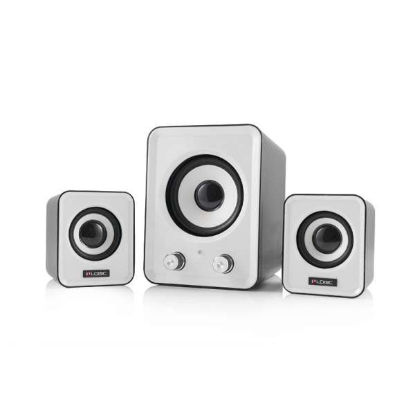 Boxe audio LOGIC LS-20  [ 2.1 stereo ]