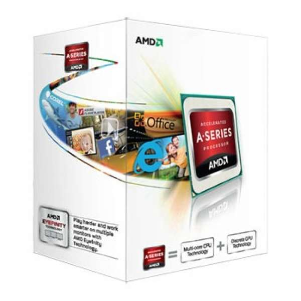AMD APU A4-6300, Dual Core, 3.70GHz, 1MB, FM2, 32nm, 65W, VGA, BOX