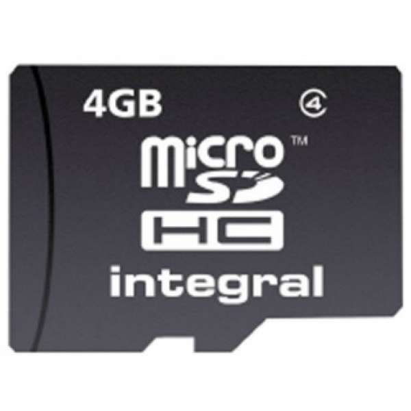 Card memorie Integral MICRO SDHC 4GB CL4