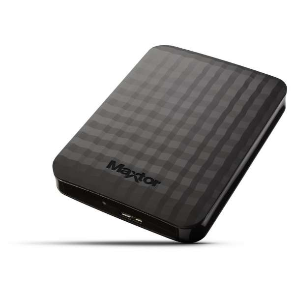 External HDD Maxtor M3 Portable 2.5'' 2TB USB3, Black