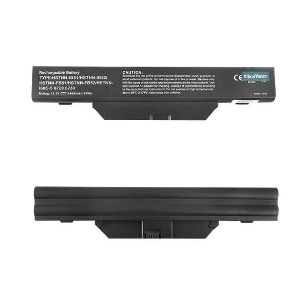 Qoltec baterie laptop Long Life - HP 6720 10.8V | 4400mA