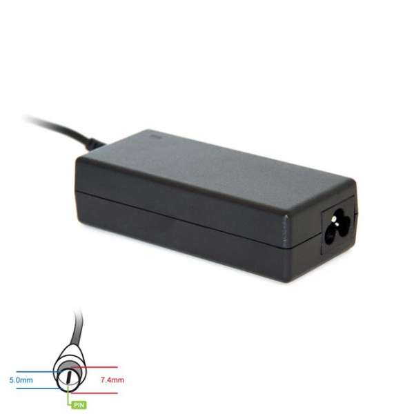 Digitalbox AC power adapter 19.5V/3.34A 65W connector7.4x5.0mm + pin Dell