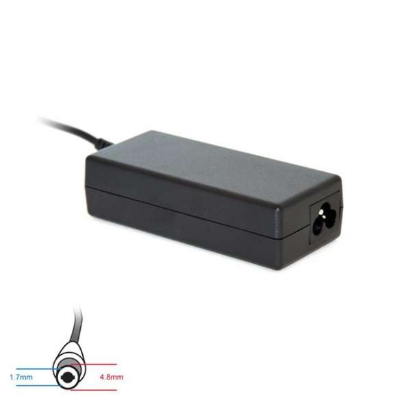 Digitalbox AC power adapter 12V/3A 36W connector 4.8x1.7mm Asus Eee PC