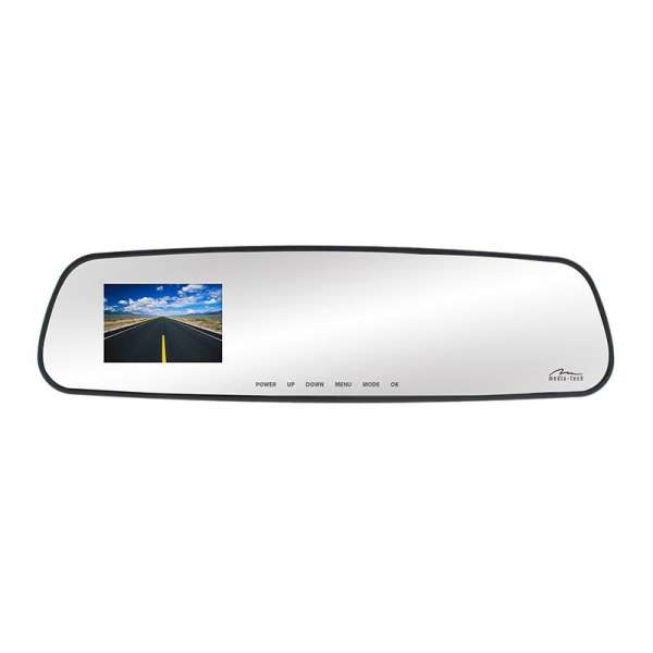 U-DRIVE MIRROR LT - Rearview mirror with built-in car camera HD