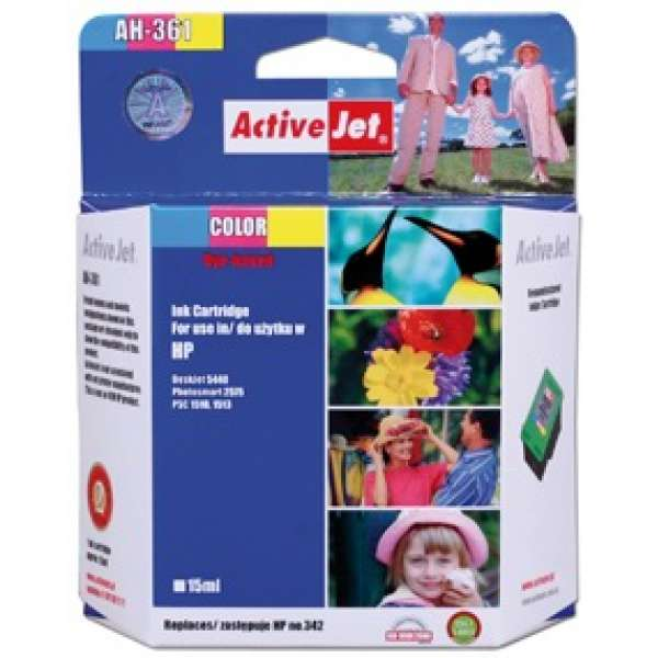 Ink ActiveJet AH-361   Color   15 ml   Refill   HP C9361EE