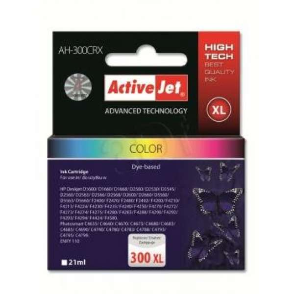 Ink ActiveJet AH-704CR | Kolor | 21 ml | HP HP 704 CN693AE