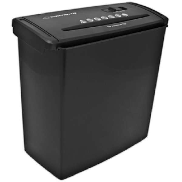 ESPERANZA Shredder to Paper BLADE EN101 with Basket 10 L DIN 1
