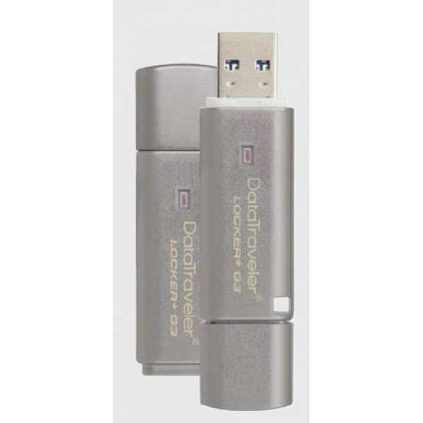 Memorie flash Kingston 8GB USB 3.0 DT Locker+ G3 w/Automatic Data Security