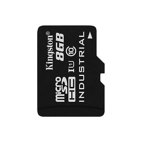 Kingston 8GB microSDHC UHS-I Industrial Temp Card Single Pack w/o Adapter