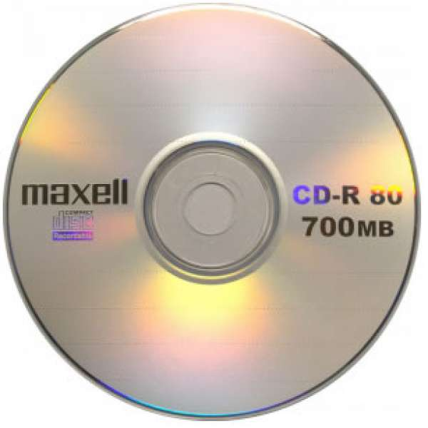 CD-R 700 Mb Maxell 52x
