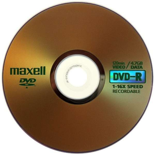 DVD-R 4.7 Gb Maxell 16x