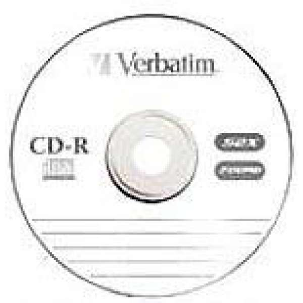 CD-R 700 Mb Verbatim 52x