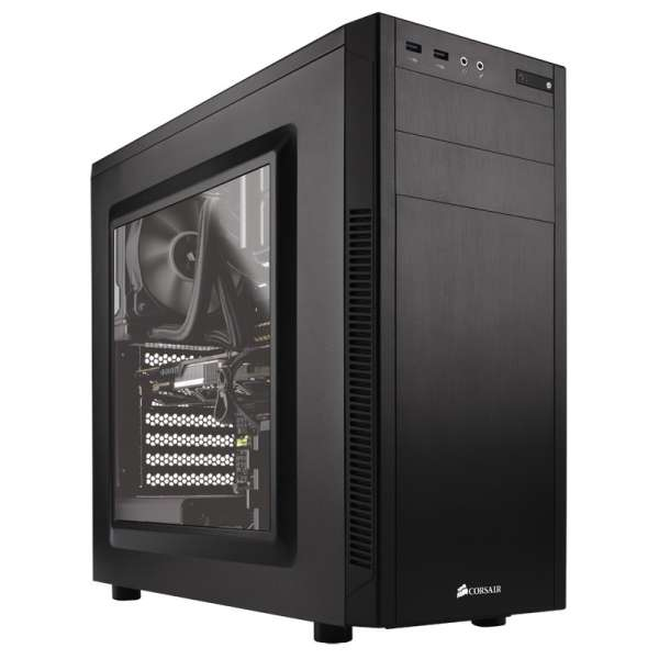 PC case Corsair Carbide Series Clear 600c Atx Tower C