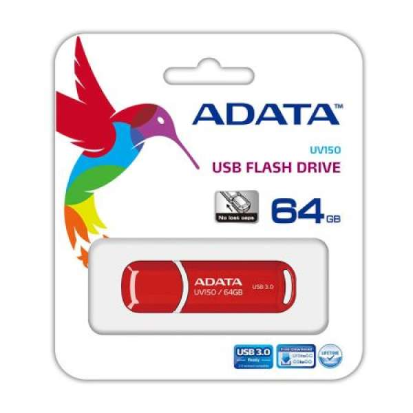 FLASH DRIVE 64GB 3.0 UV150 ADATA