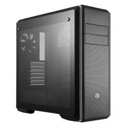 CARCASA COOLER MASTER Middle-Tower E-ATX, MasterBox CM694, tempered glass, 3* 120mm fan (incluse),