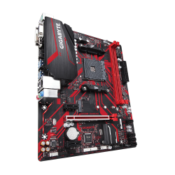 Placa de baza Gigabyte B450M GAMING, AMD B450, 2 x DDR4 DIMM sockets supporting up to 32 GB of sys