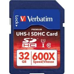SECURE DIGITAL CARD SDHC 32GB (Class 10) PRO UHS-I Verbatim (47021)