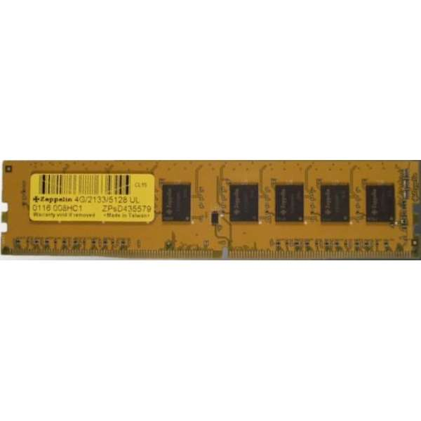 DIMM DDR4/2400 8192M  ZEPPELIN (life time, dual channel) (ZE-DDR4-8G2400b)