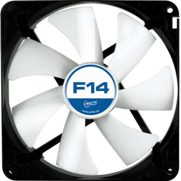 "FAN FOR CASE ARCTIC. ""F14"" 140x140x25 mm, low noise FD bearing (AFACO-14000-GBA0"