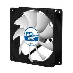 "FAN FOR CASE ARCTIC   ""F9 PWM PST"" 92x92x25 mm, w/ PWM & cablu PST, low"