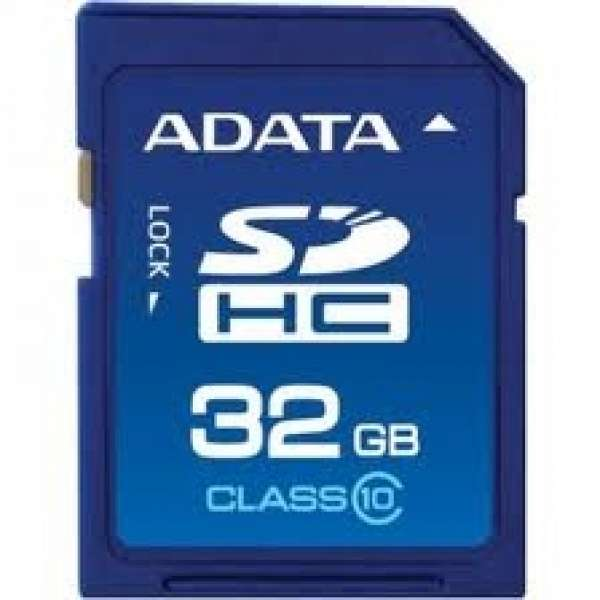 Secure Digital Card SDHC 32GB class10 ADATA (ASDH32GUICL10-R)