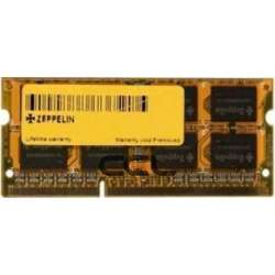 SODIMM ZEPPELIN  DDR3/1600 8192M    (life time, dual channel) low voltage (ZE-SD3-8G1600V1.35)
