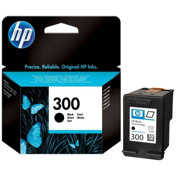 Cartus cerneala Original HP Black 300 w.Vivera ink, compatibil DJ D2530/2560/2660/5560/F2420/2480/