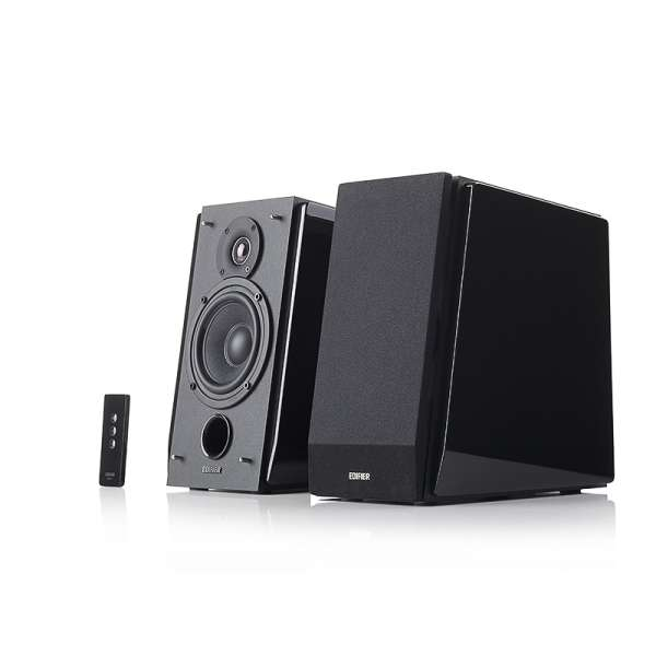 Boxe 2.0, RMS: 70W (35W x 2), volum, bass, treble, telecomanda wireless, dual RCA, EDIFIER (R1800T