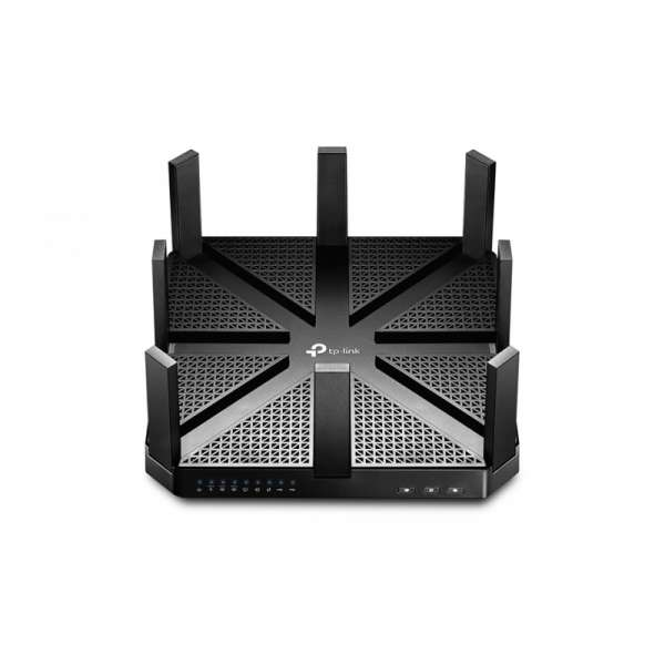 AC5400 Tri-Band MU-MIMO Wireless Gigabit Router, Broadcom 1.4GHz dual-core CPU, 2167Mbps*2 at 5GHz
