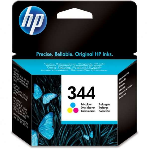 Cartus cerneala Original HP Tri-color 344 w.Vivera ink, compatibil DJ460C/5740/574x/65xx/PSC1600/1